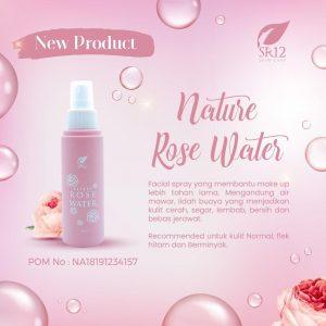 nature rose water