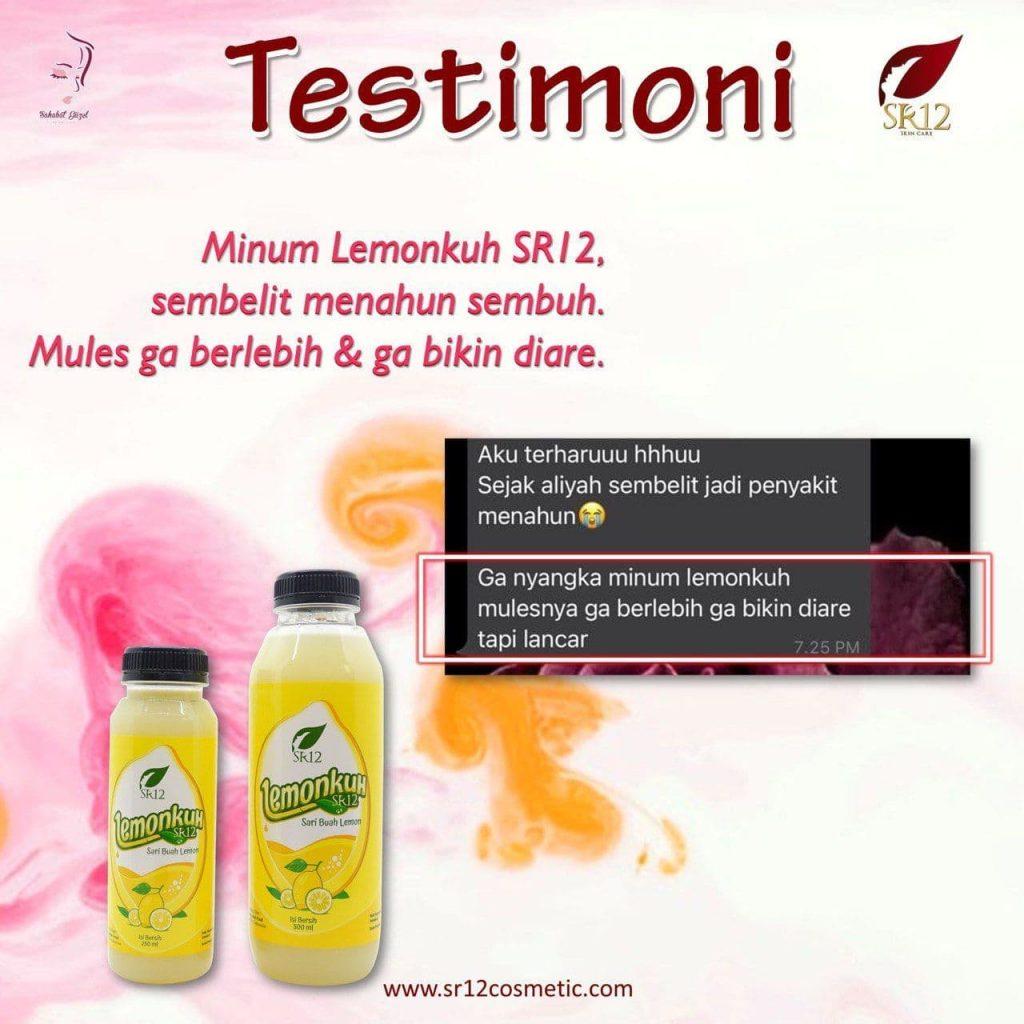 testimoni lemonkuh sr12